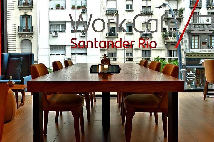 Work Café Santander Río